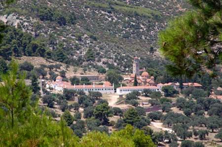 Manastirea Sfantul Efrem cel Nou - Nea Makri
