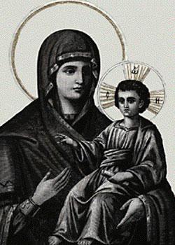 Maica Domnului Palaiologina - Manastirea Grigoriu
