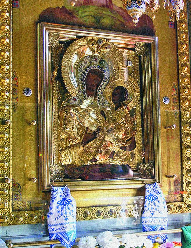 Icoana Maicii Domnului de la Tihvin