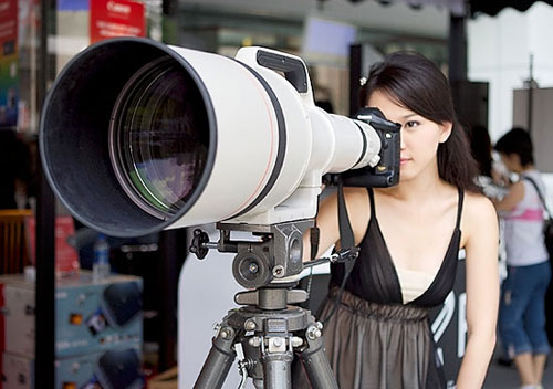 Canon 1200mm f5.6 lens