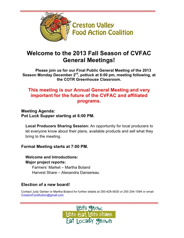 General Meeting Poster December AGM 2013 JPEG
