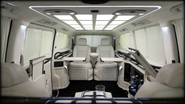 Business Luxury Vans KLASSEN-inside
