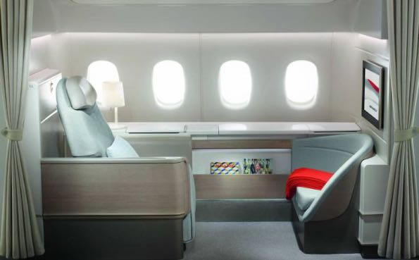 Air France luxury travelling 001