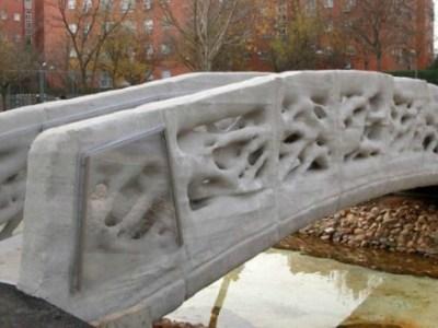 Ο 3D εκτυπωτής βγάζει και... γέφυρες