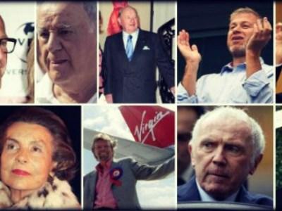 10 Ευρωπαίοι δισεκατομμυριούχοι χωρίς πτυχίο