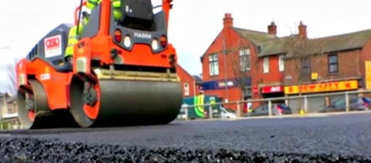 Δρόμοι κατασκευασμένοι από ανακυκλωμένο πλαστικό