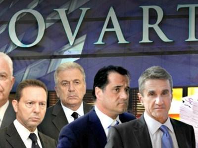 Το Πόρισμα NOVARTIS στον Πρόεδρο της Βουλής