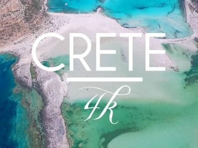 Μαγικές παραλίες της Κρήτης από drone