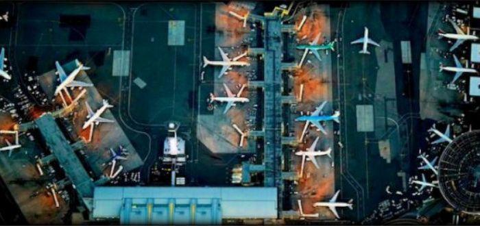 Εντυπωσιακά αεροδρόμια από ψηλά