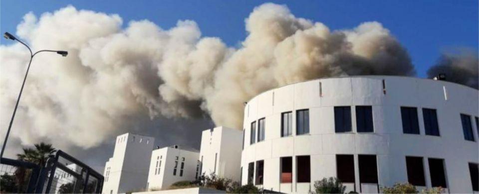 Χωρίς πυρασφάλεια ο χώρος του Πανεπιστημίου που κάηκε
