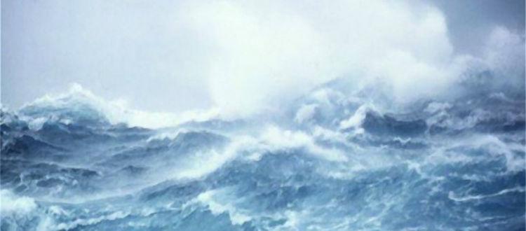 Τα κύματα του κυκλώνα Ζορμπά παρέσυραν ψαρά