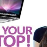 Πεντακάθαρο πληκτρολόγιο στο laptop