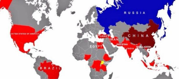 Ο πληθυσμός ανά χώρα το 2050