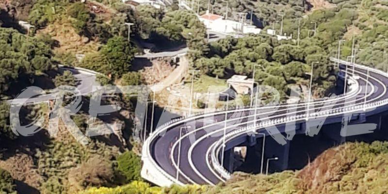 Στην κυκλοφορία η μεγαλύτερη γέφυρα της Κρήτης