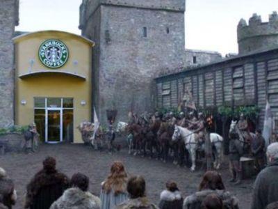 Πόσα έβγαλαν τα Starbucks από την τσάμπα διαφήμιση στο GOT