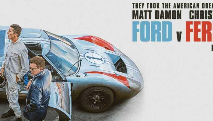Ford vs Ferrari με τους Ματ Ντέιμον και Κρίστιαν Μπέιλ