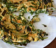 Αβρωνιές με αυγά, ομελέτα εποχής