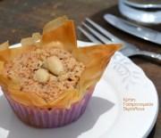 Γλυκά «παστιτσάκια» (μαντηλάκια) αμυγδάλου με φύλλο κρούστας