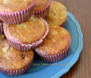 Muffins με μπανάνες και ελαιόλαδο