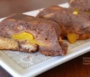 Πουτίγκα σοκολάτας με μπαγιάτικο ψωμί ή τσουρέκι