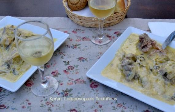 χοιρινό με πράσα μενού 44 κολάζ συνταγές cretangastronomy.gr