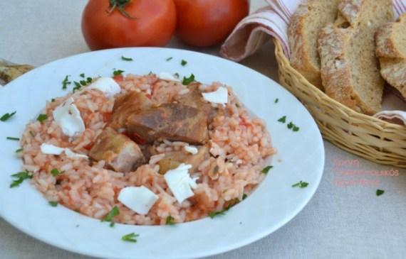 ντοματόρυζο με σύγλινο μενού 44 κολάζ συνταγές cretangastronomy.gr