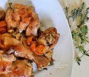 Αρωματικό κοτόπουλο με ντοματίνια στο φούρνο