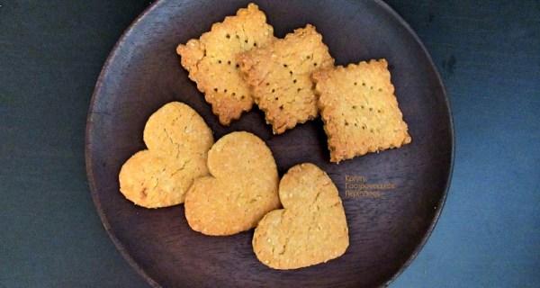 Μπισκότα τύπου digestive με ελαιόλαδο