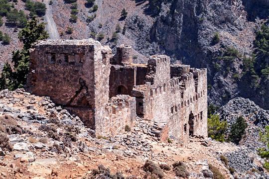 Το φρούριο των Τούρκων στην Αγία Ρούμελη