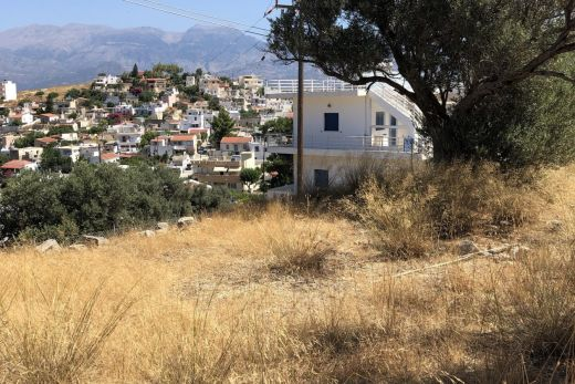 Building plot in Kamilari with panoramic view