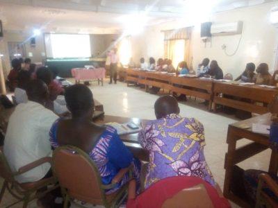 Formation des équipes du projet de lutte contre les violences de genre au Togo