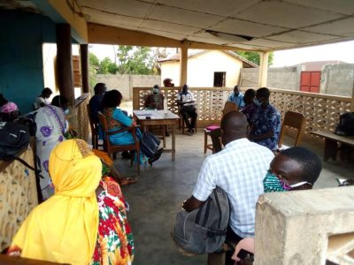Rencontre trimestrielle des membres du cadre de concertation des acteurs engagés dans la protection de l'enfance de la Préfecture de Tchaoudjo