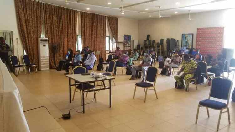 Plan International Togo et ses partenaires en séance bilan des activités réalisées au cours du trimestre juillet-septembre 2020 à Blitta