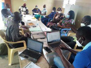 Évaluation à mis parcourt du projet d'accompagnement des centres d'accueil d'enfants