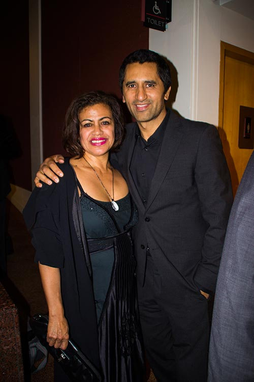 Christina Asher, Cliff Curtis at the Maori Screen Awards   Photo: Linda T