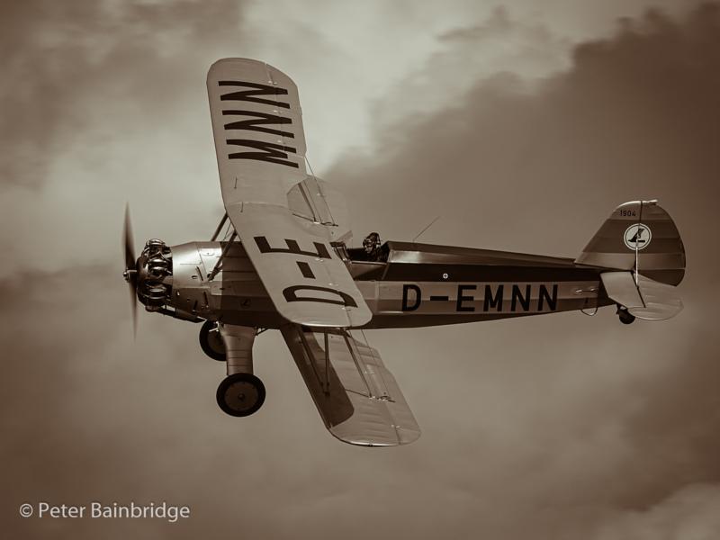 Peter Bainbridge – Focke Wulf 44 Stieglitz-2