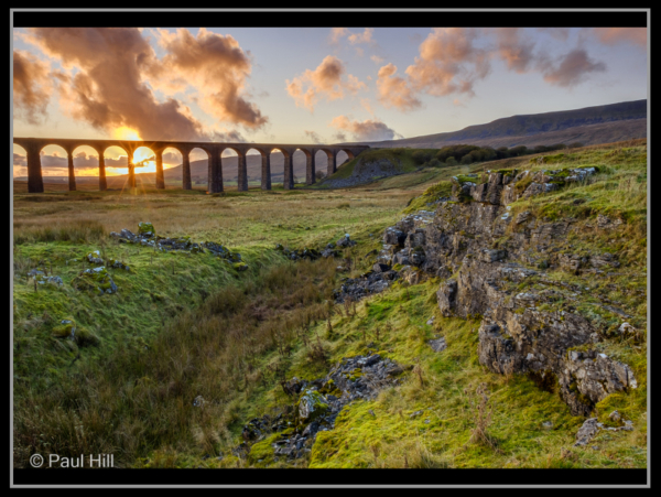 Paul Hill – 2_Sunset at Ribblehead Viaduct_G_11-2