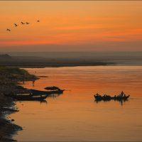 Irrawaddy at Dawn