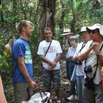 Ben Dion leads Fungi Seminar