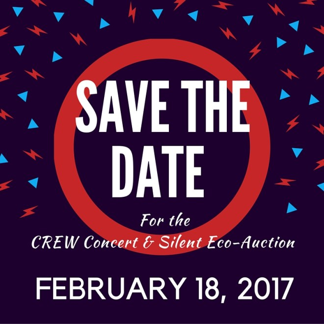 Save the date 2017 concert