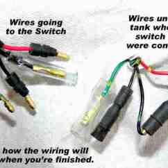 Four Way Flat Wiring Diagram Rv Inverter Crf's Only - How To Remove The Keyed Ignition Switch From Crf230f