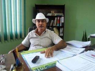 Guido Vargas, secretario general de Upa Nacional.