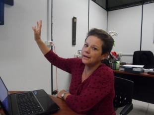 Alicia Avendaño, directora de Gobierno Digital.