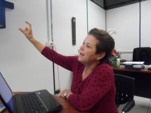 Unas 67 organizaciones forman parte del proyecto de Merlink, según Alicia Avendaño. CRH.