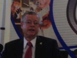 Francisco Llobet, presidente de la Cámara de Comercio de Costa Rica.  CRH.