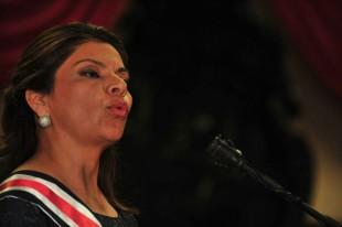 El vocero del Gobierno defendió que Laura Chinchilla reconoció errores. (Herbert Arley para CRH)