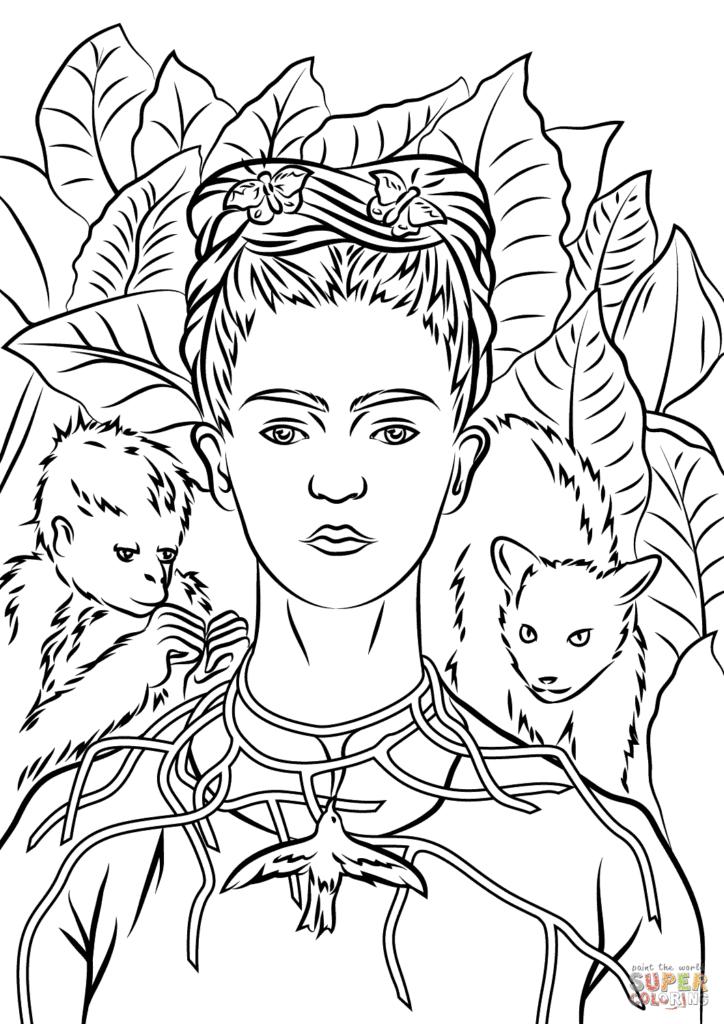 7 Atividades sobre Frida Kahlo para crianças