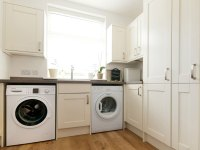 A fully equipped utility room