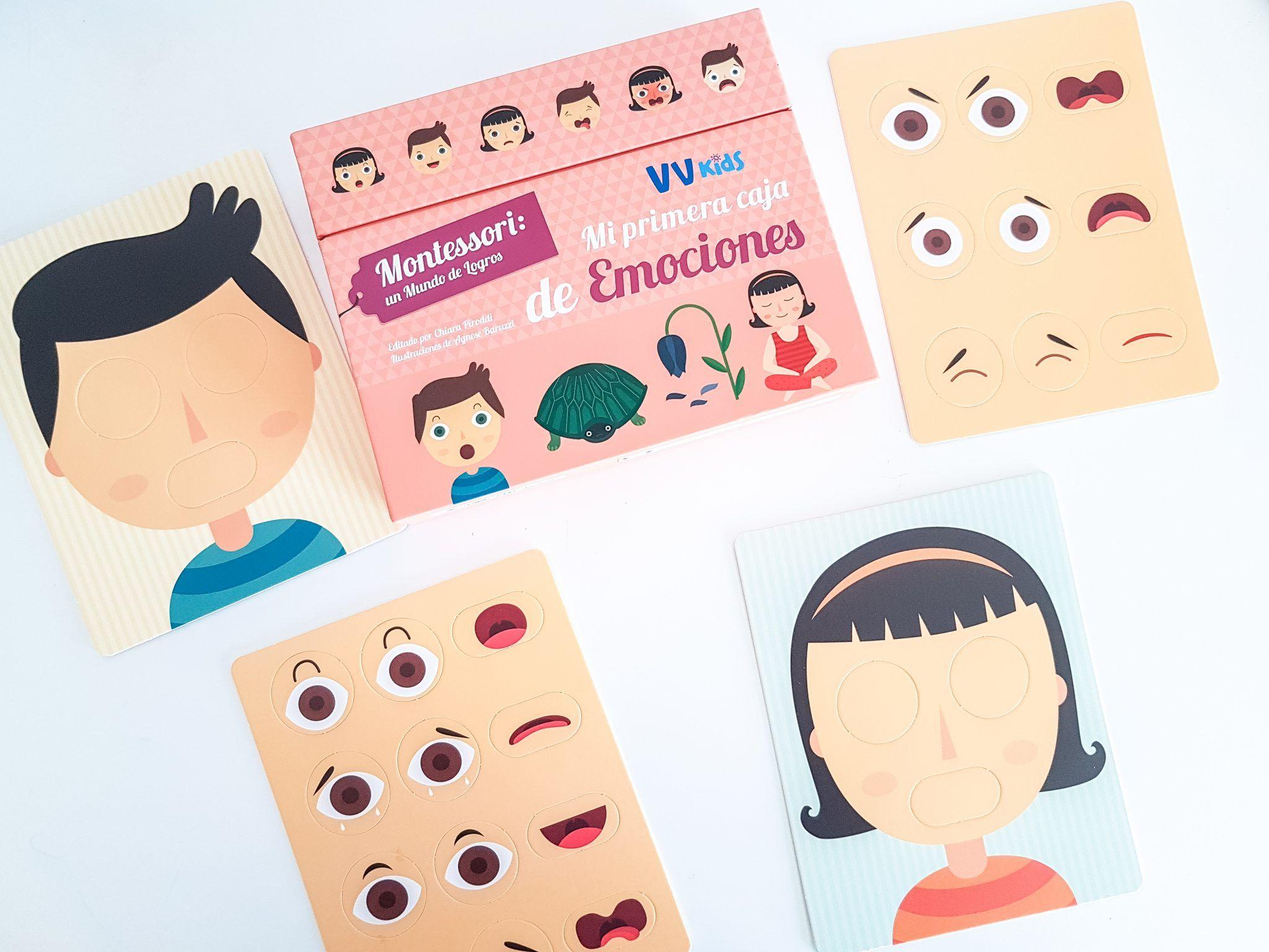 Montessori: Mi primera caja de emociones