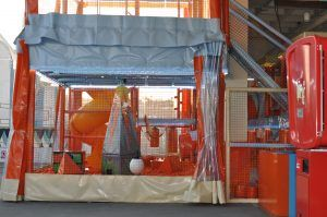 parque de atracciones con niños